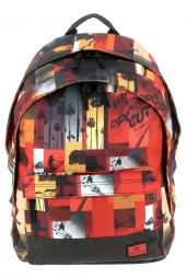 sac a dos rip curl bbpfu4 photo vibes double dome rouge