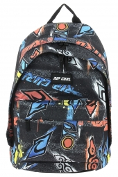 sac a dos rip curl bbpul2 double dome brush stoke noir