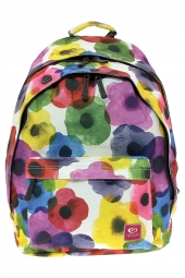sac a dos rip curl lbphp4 flower mix double dome blanc