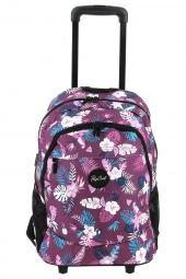 sac a dos trolley pour fille rip curl lbpgr1 wh proscholl flora violet