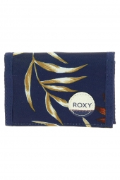 portefeuille roxy erjaa03137-small beach bleu