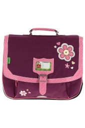 cartable pour fille tanns collector t4cofl-ca38 violet