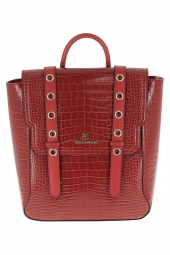 sac a main ted lapidus tl dx406 rouge