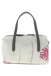 sac a main ted lapidus tl pa3803 relief blanc