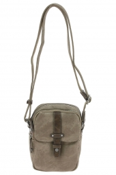 sac bandouliere wylson design w8176-3-harbour-2zips taupe
