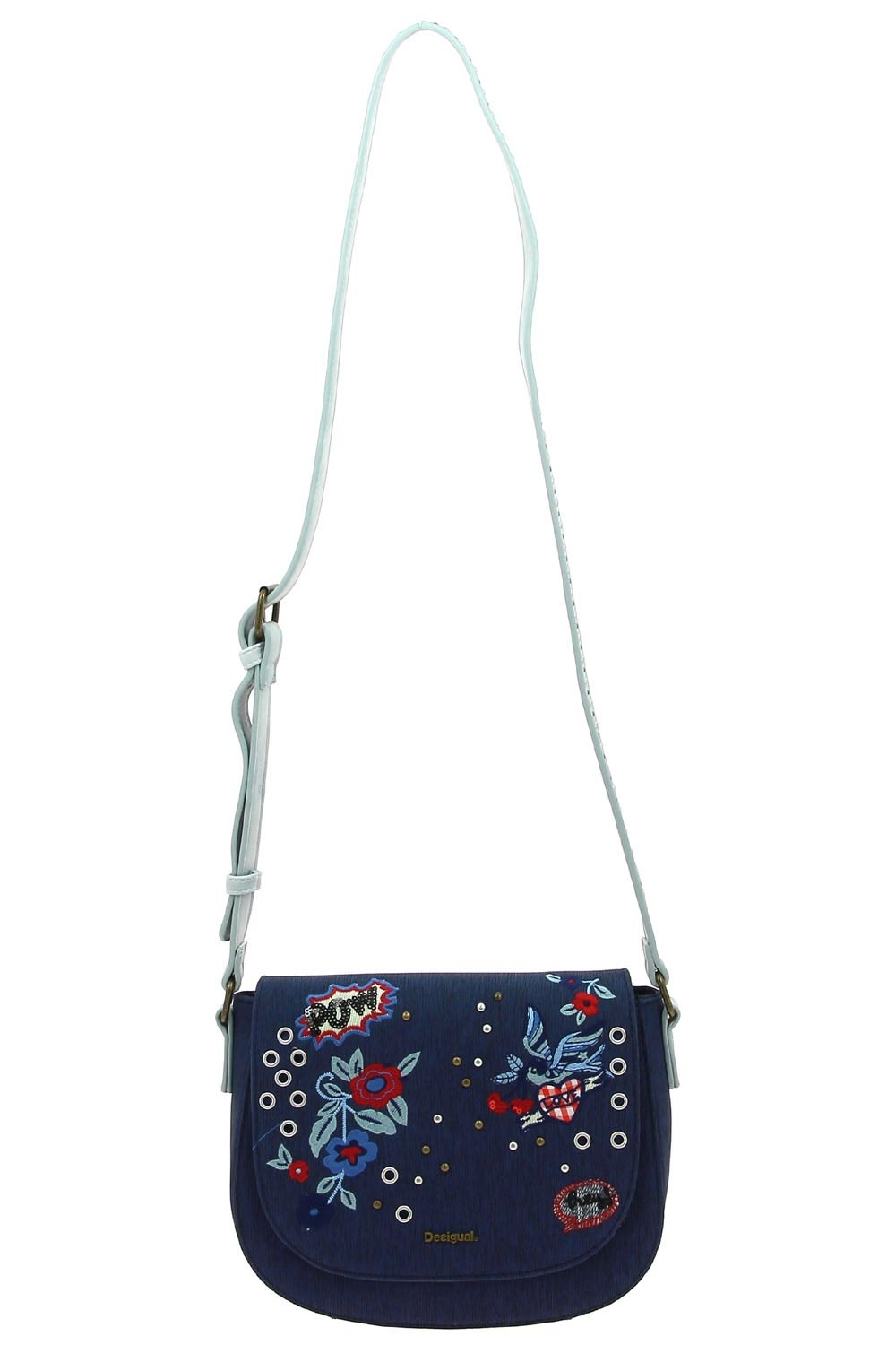 29932df858f0 desigual sac a main 18saxpfw-denim flowers varsovi