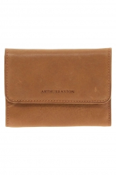 porte-cartes de credit arthur & aston 1252-171 brillant-souple orange