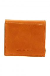 porte-monnaie arthur & aston 1252-771 huil� orange