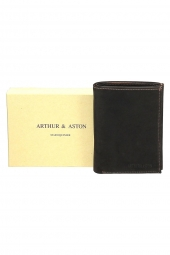 portefeuille arthur & aston 94-423 marron