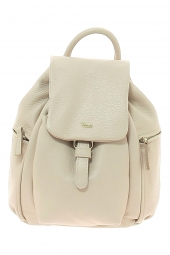sac a dos bruno rossi bags ml109p -made in italie beige