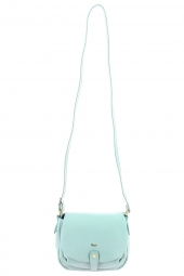 sac a main bruno rossi bags ml246p -made in italie bleu
