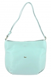 sac a main bruno rossi bags ml343p -made in italie bleu