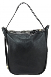 sac a main bruno rossi bags mlx14 +sad-3 zip noir