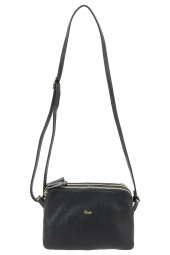 sac bruno rossi bags ml349 3s-3 zip noir