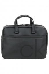 porte-documents ordinateur calvin klein k50k503876 laptop ck point noir