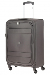 valise trolley delsey 3035810/69 ext-indiscrete soft marron