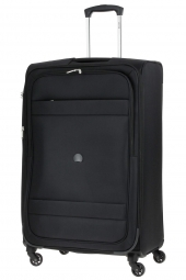 valise trolley delsey 3035821/78 ext-indiscrete soft noir