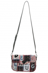 sac desigual 19waxa36 patch 1968 gris