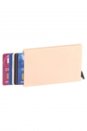 porte-cartes de credit figuretta hc10 rfid rose