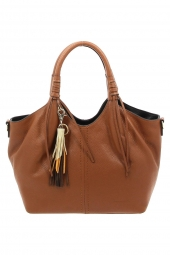 sac a main francinel 22273 brandy marron
