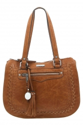 sac a main georges rech naor-gypsy marron