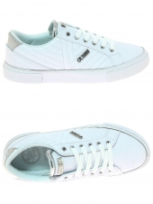 baskets mode guess groovie/active lady/leather blanc