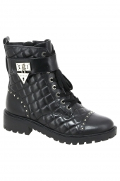 bottines fashion guess holdy noir