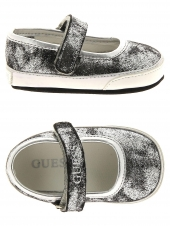 chaussures maroquinerie guess fala argent