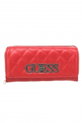 compagnon guess sweet candy slg lrg clutch rouge