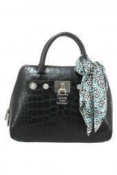 sac a main guess anne marie dome satchel noir