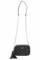 sac a main guess ariel camera bag noir