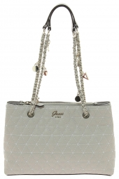 sac a main guess fleur girlfriend satchel beige