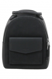 sac a dos hexagona 525839 frequency + suedine noir
