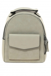 sac a dos hexagona 525839 frequency + suedine beige