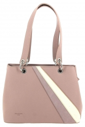 sac a main hexagona 255834 rainbow-grain� rose