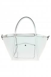 sac a main hexagona 355287 safiano souple blanc