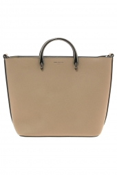 sac a main hexagona 355821 lagune-ray� souple beige