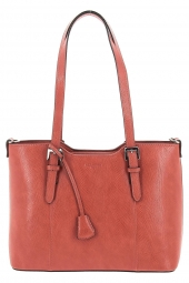 sac a main hexagona 495332 dauphin orange