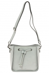 sac a main hexagona 525841 frequency + suedine gris