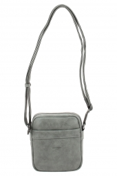 sac bandouliere hexagona 784636-difference-pu wash? gris