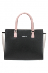 sac lancaster 421-42 saffiano intemporel noir