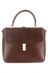 sac a main lancaster 571-57 legende horizon- marron