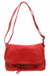 sac a main lea toni cybelie-made in italie rouge