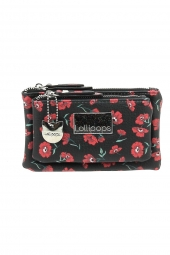 porte-monnaie lollipops 23832-campus bi purse noir