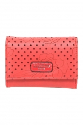 porte-monnaie lollipops 24162-douceur flat wallet m rouge