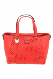 sac lollipops 24159-douceur medium shopper rouge
