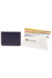 porte-cartes de credit mywalit 131-credit card holder w/plast rose