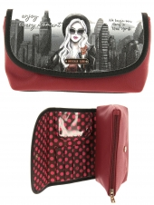 trousse de maquillage nicole lee cos7112 lny-life in new york noir