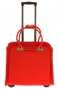porte-document trolley olivia lauren celine rouge