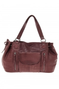 sac a main pieces 17083791 pcjihano leather bordeaux